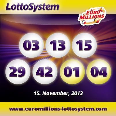 The November 15th 2013 EuroMillions Superdraw Has Been Won