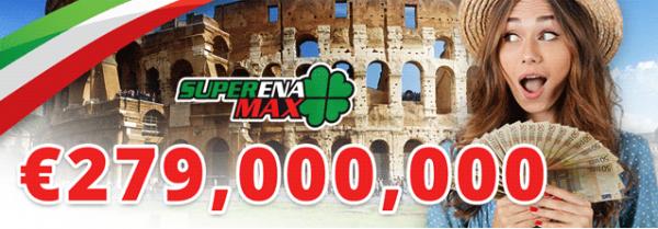 Mega SuperEna Max Lotto Prize