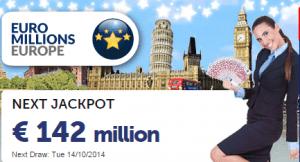 Gratis lotteriseddel for største jackpot trække