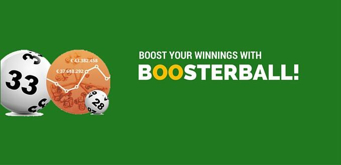 Boost your winnings with Boosterball!